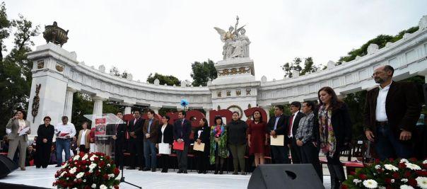 Grupo Parlamentario del partido Morena.